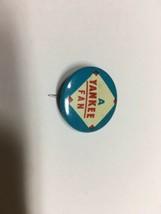 1960's Vintage NY New York Yankees Baseball 3/4 Inch Pin Pinback MLB Guys Chip - $12.82