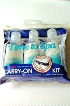 Plastic Bottles 3oz Travel Assorted Clear Zip Pouch Storage TSA One (3) ... - $6.95