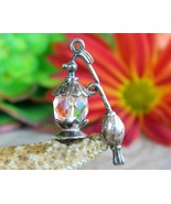 Vintage perfume bottle bracelet charm spray atomizer sterling silver thumbtall