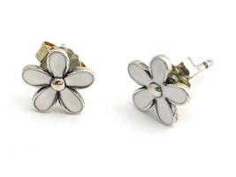Authentic Pandora Darling Daisies Stud Earrings, 290538EN12, New - $645,86 MXN