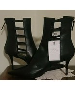 "Zara Brand ~ Black ~ Leather ~ Women's Size 11 ~ 3.5"" Stiletto ~ Fashion... - $69.29"