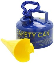 Eagle UI-20-FSB Type I Metal Safety Can with F-15 Funnel, Kerosene, 11-1... - $61.02