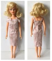 Vintage Blonde Misty Ideal M-12 1965 Doll In Cocktail Dress - $82.00