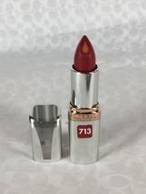 NEW L'Oreal Colour Riche Anti-Aging Serum Lipcolour Lipstick in Spiced Wine 713 - $7.19