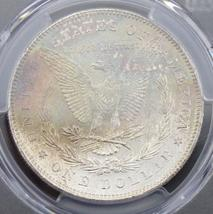 1878 7/8 TailFeather PCGS VAM 33A/Clash MS 64 Rainbow Toned Morgan Silver Dollar - $549.95