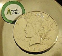 Uncirculated Liberty Peace Silver Dollar 1922 AA20-CND7008 image 3