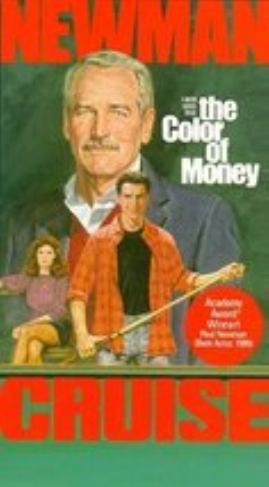The Color Of Money Vhs