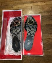 Coach Woman Sandals Signature Color gray - $23.13
