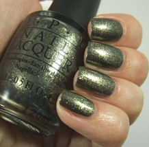 Opi Spider Man Number One Nemesis Deep Metallic Green Nail Polish Lacquer M38 - $8.44