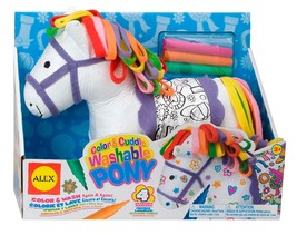 ALEX Toys Craft Color and Cuddle Washable Pony - $23.07