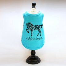 Alphadog Series Cute and Funny Animal printed Tank top T-Shirt for your ... - $7.99