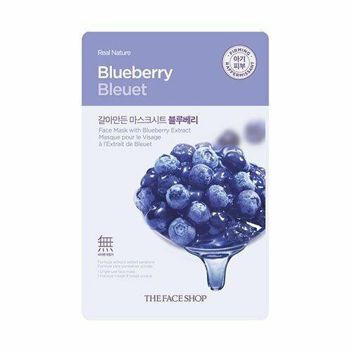 Primary image for REAL NATURE BLUEBERRY FACE MASK 10 PACK