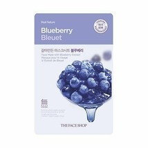 REAL NATURE BLUEBERRY FACE MASK 10 PACK - €8,64 EUR