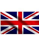 4x6 ft British Union Jack United Kingdom (UK Great Britain) Country Flag Banner - $6.44