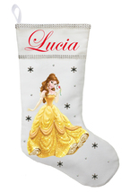 Belle Christmas Stocking - Personalized and Hand Made Belle Christmas St... - $29.99