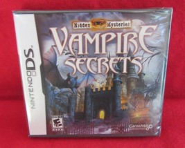 Hidden Mysteries: Vampire Secrets (Nintendo DS, 2010) Brand New - €9,37 EUR