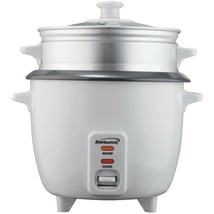 Brentwood Appliances TS-180S Rice Cooker with Steamer (8 Cups, 500 Watts) - $41.45