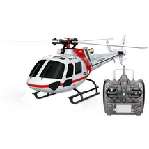 XK K123 6CH Brushless AS350 Scale RC Helicopter RTF Mode 2 - $174.98