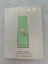 NEW BVLGARI Eau Parfumee Au The Vert 0.05 oz  Women's Eau de Toilette - $13.50