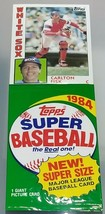 LARGE 1984 Topps Super Size MLB Baseball Picture Card Pack - Carlton Fisk - $4.94