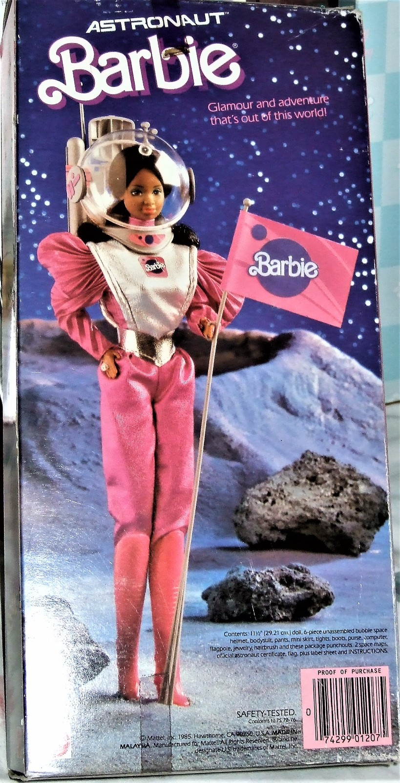 Astronaut Barbie Doll 1985 BY MATTEL AA