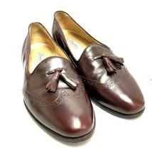 Cole Haan Bragano Burgundy Oxford Loafer Slip on Tassels Style# 2514 Size 9E - $33.69