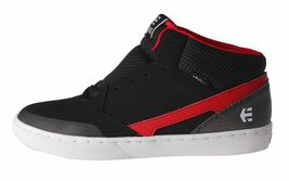 Etnies Kids Boys Black/Red Rap CM Mid Lace-Up Skate Shoes Sneakers 2US 34 NIB image 5