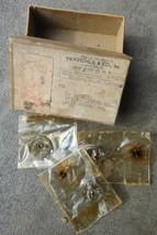 1948 vintage SWARTCHILD MAILING BOX w/3 UNUSED WATCH PARTS lutz,shenando... - $18.95