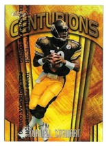 1998 Kordell Stewart Topps Finest Centurions Refractor 22/75 - Steelers - $17.09