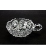 Nappy Clear Glass Crystal Nappy Bowl Nucut Imperial Glass 1920's Scallop... - $18.57