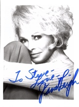 JANET LEIGH AUTOGRAPHED SIGNED 3x5 PHOTO w/COA PSYCHO Touch of Evil To S... - $13.99
