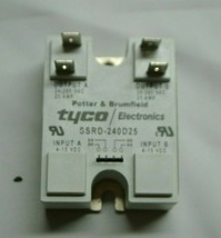 Potter & Brumfield Tyco SSRD-240D25 Solid State Relay 120/240V 25A - $37.49