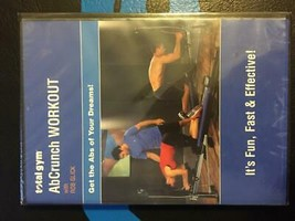 Total Gym AbCrunch DVD - $9.89