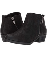 Carlos by Carlos Santana Women's Brianne Ankle Boot,Black Synthetic,US 7... - $57.95