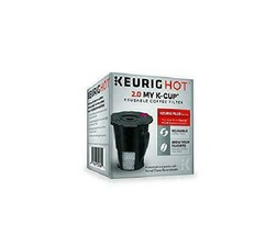 My K-Cup Reusable Ground Coffee Filter Keurig Hot 2.0 Pod Coffee Makers ... - $10.87