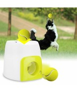 Pet Dog Toy Automatic Ball Launcher Tennis Ball Rolls Machine  - $59.39