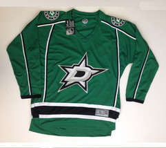 Nhl Dallas Mens  Stars Jersey Top, Green, Size L - $79.19