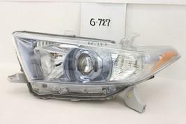Oem Head Light Headlight Lamp New Toyota Highlander 11 12 13 Hybrid Nick Minor - $128.70