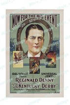 The Kentucky Derby 1922 Vintage Movie Poster Reprint  - $5.95+