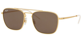 NEW Ray Ban RB-3588-901373 Gold Sunglasses - $98.04