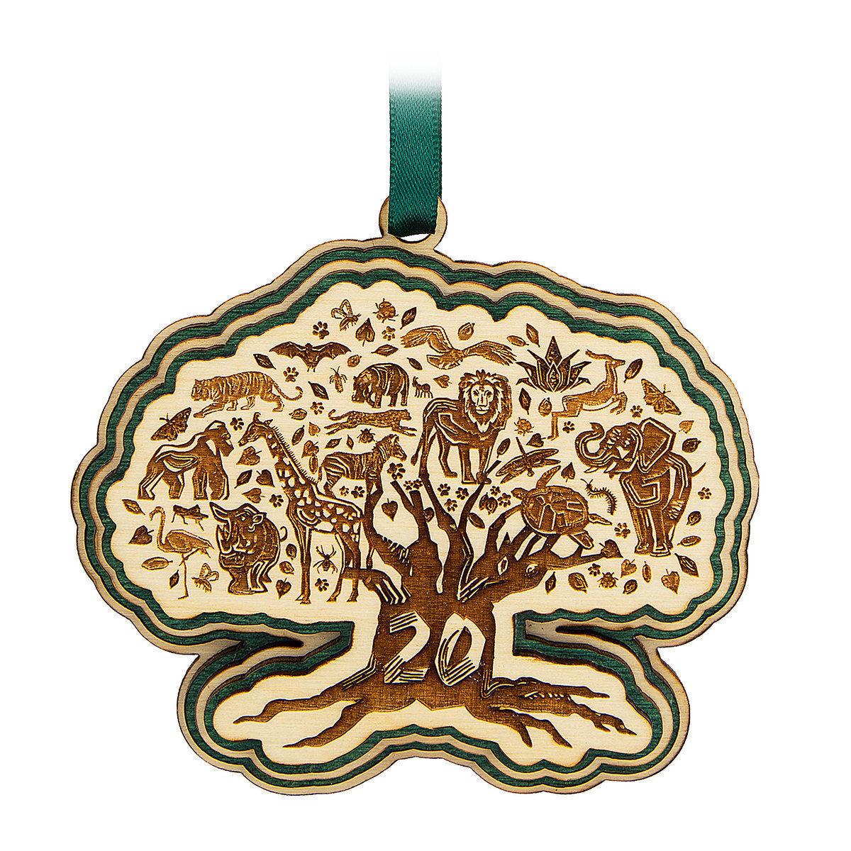 Disney Parks Animal Kingdom 20th Anniversary Tree of Life Ornament New with Tag