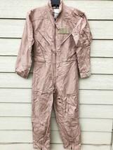 Genuine Us Air Force Tan Nomex Fire Resistant Flight Suit CWU-27/P - 36R. - $74.25