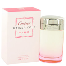 Baiser Vole Lys Rose by Cartier Eau De Toilette  3.3 oz, Women - $53.51