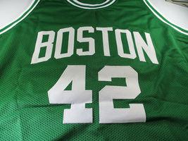 AL HORFORD / AUTOGRAPHED BOSTON CELTICS CUSTOM BASKETBALL JERSEY / COA image 2