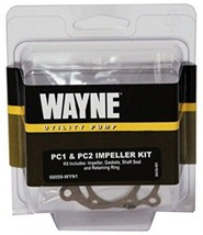 Utility Pump PC1 / PC2 Impeller Kit Includes Shaft Seal and Retaining Ring - $12.86
