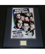 Pat O'Brien Signed Framed 16x20 Angels With Dirty Faces Poster Display JSA - $210.36