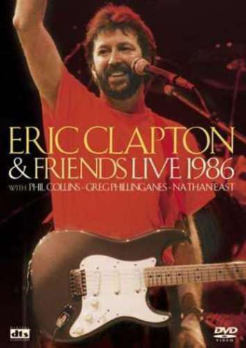 Eric & Clapton Friends - Live 1986 (DVD, 2003) w/ Phil Collins Music Concert