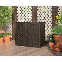 97-Gallon Outdoor Patio Cabinet Storage - $191.49