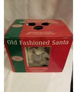 Renwick Candles Old Fashioned Santa Stoneware Candle Cinnamon Scent - $5.89