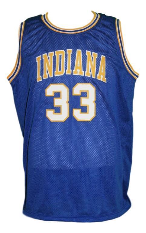 Steve chubin indiana aba basketball jersey blue   1